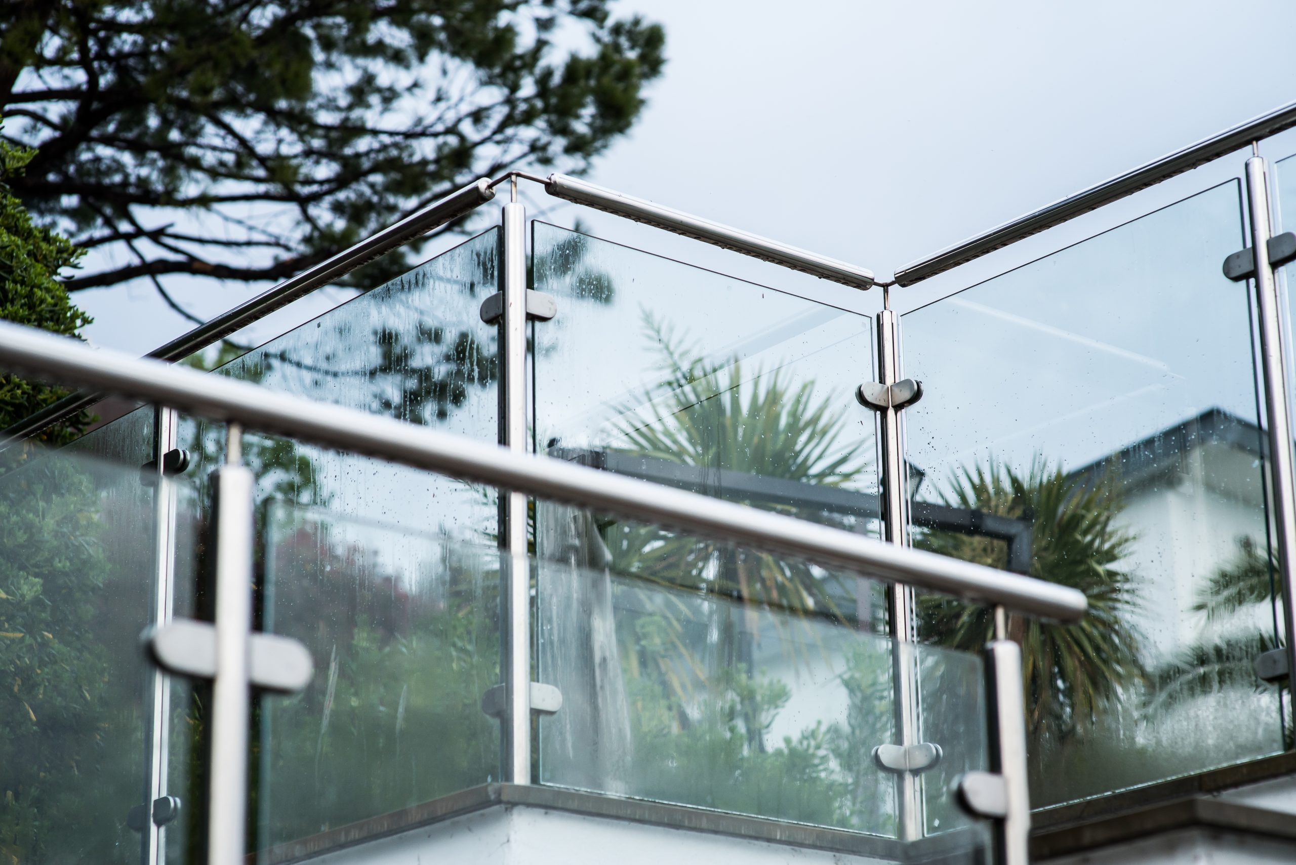 Glass & Steel Balcony